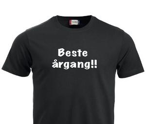 Bilde av T-shirt, Beste årgang!!