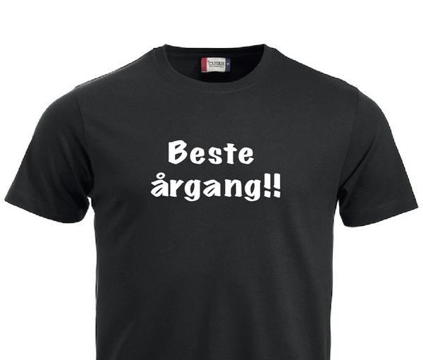 T-shirt, Beste årgang!!