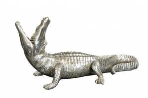 Bilde av Krokodille - lysestake