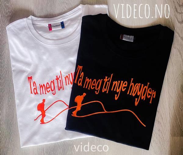 T-shirt, Ta meg til nye høyder