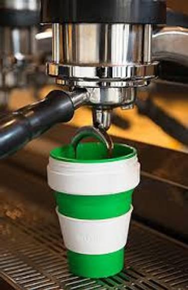 Stojo sammenleggbar kaffekopp
