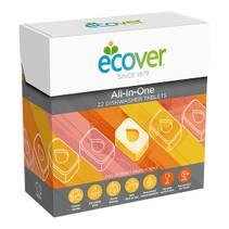 Ecover All-in-one Oppvaskmaskintabletter 25 stk