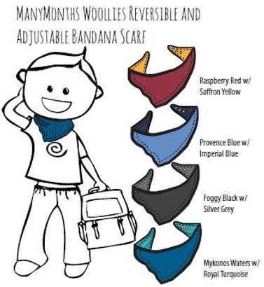 ManyMonths bandana skjerf/smekke