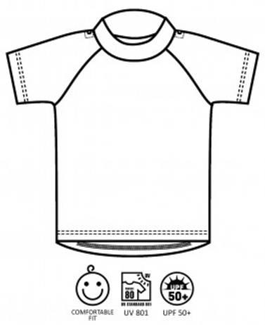 ImseVimse UV t-skjorte sjøliv