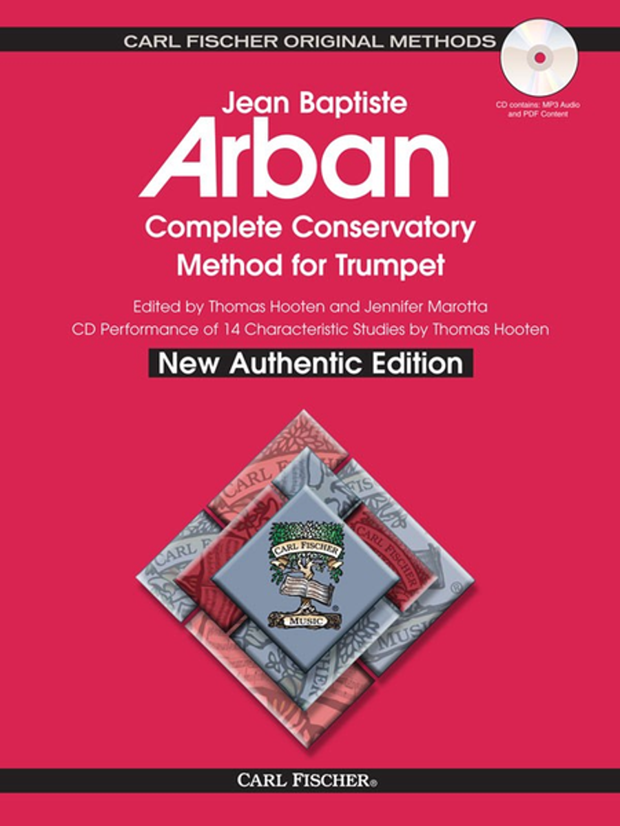 Arban, Jean Baptiste Complete conservatory method for trumpet