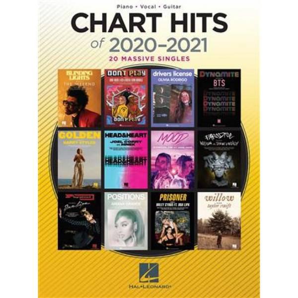 Bilde av Chart hits of 2020-2021 PVG