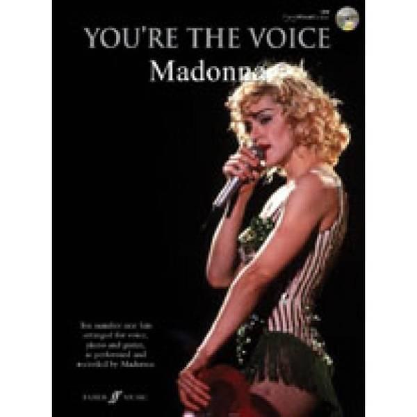 Bilde av You're the voice Madonna PVG + CD