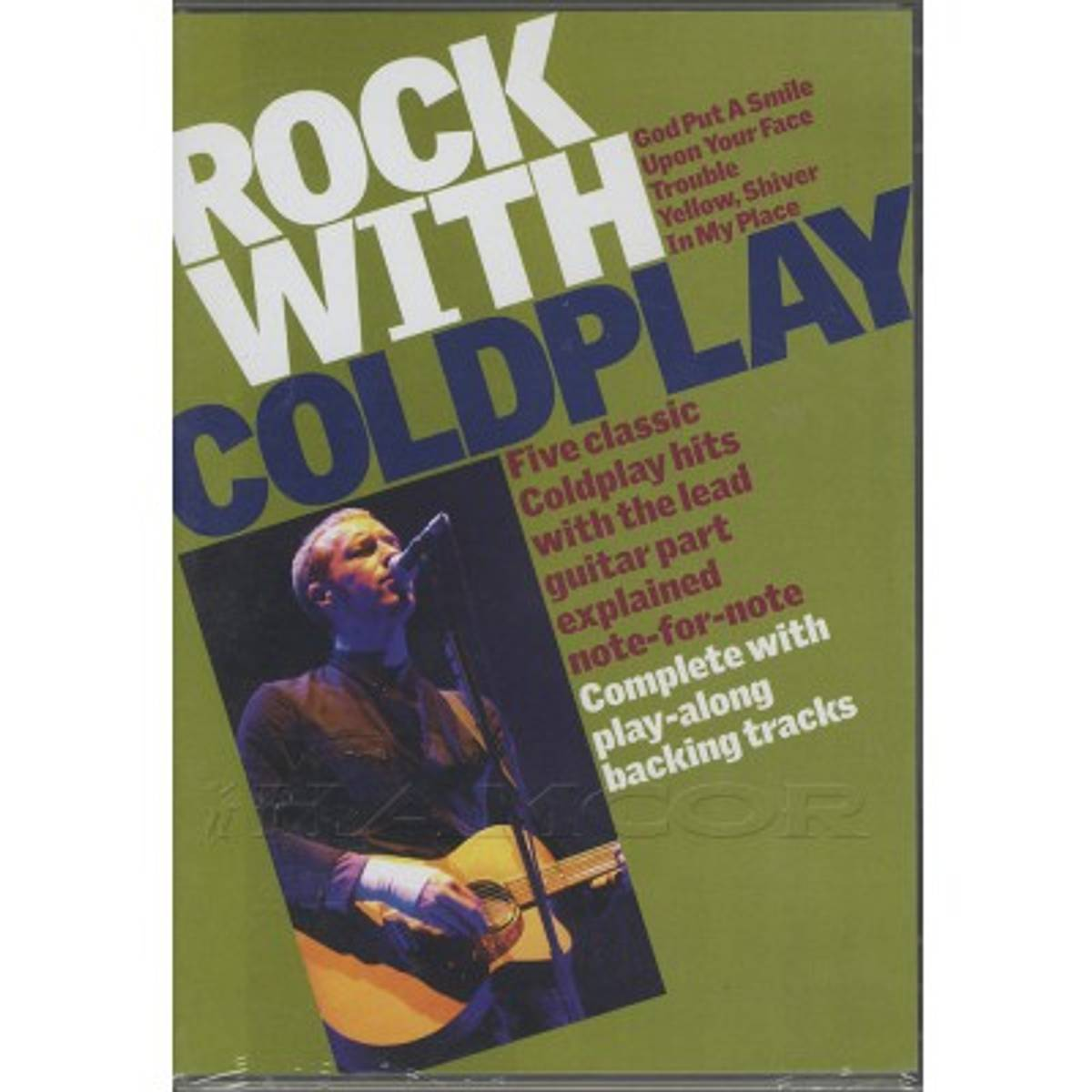 Coldplay DVD - Rock With Coldplay