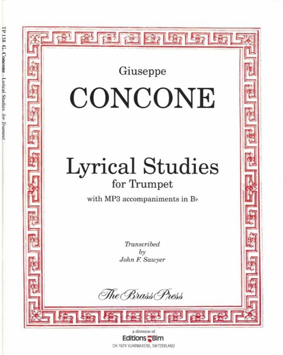 Concone, G. Lyrical studies for trumpet