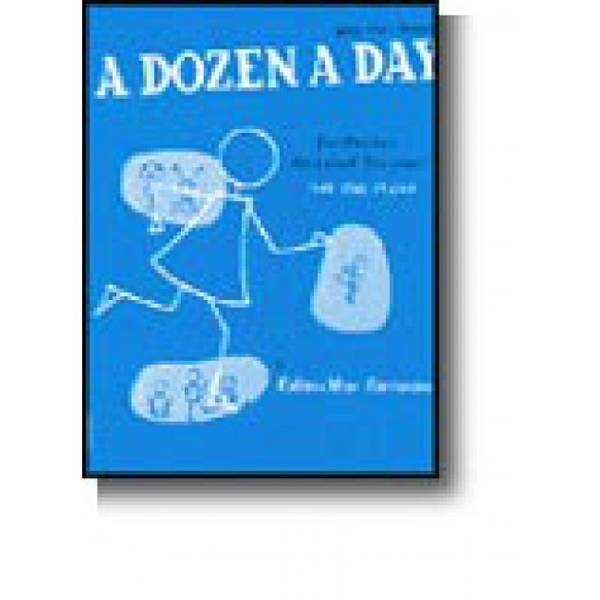 Bilde av Burnam, E-M A Dozen A Day bok 1