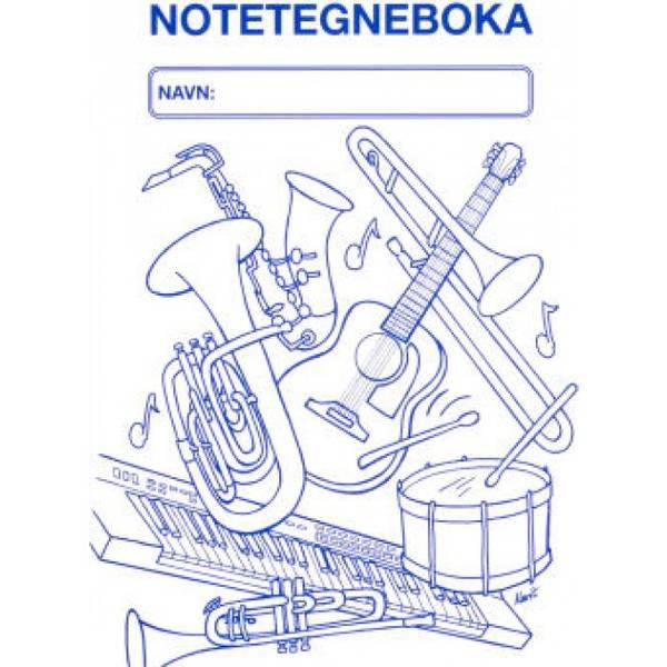 Bilde av Notetegneboka A4
