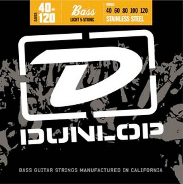 Bilde av Dunlop El-bass strenger DBN40120 Light
