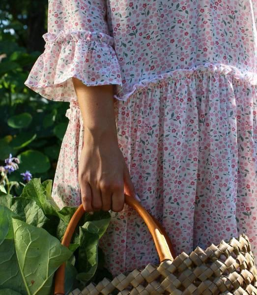 Småblomstrete sommerkjole fra RahOslo, Str XS