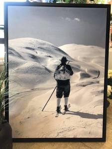 Bilde av Lerret bilde, mann på ski