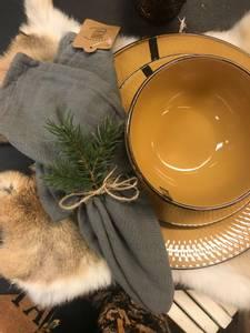 Bilde av Tøy serviett,vasket bomull,