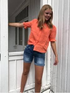 Bilde av Linbluse fra RahOslo, orange,