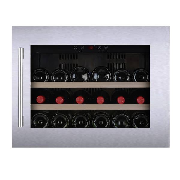 Bilde av Temptech vinskap, 18 flasker, stål, høyskap