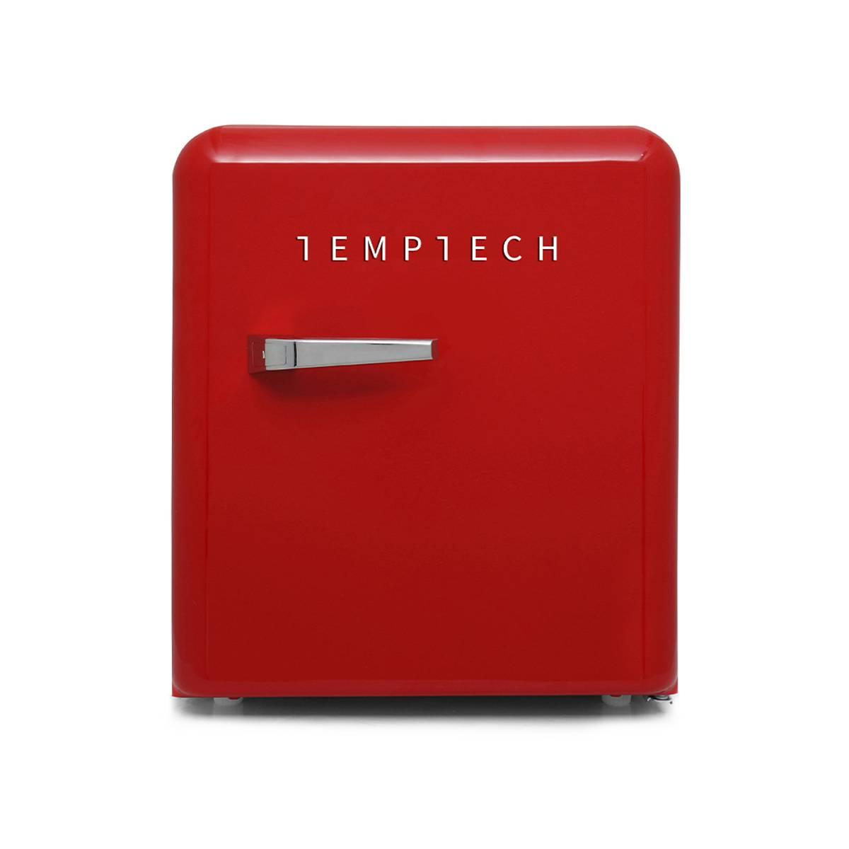 Temptech rød vintage minibar