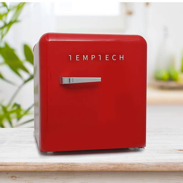 Bilde av Temptech rød vintage minibar