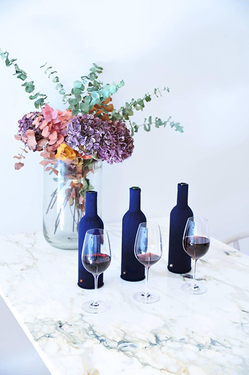 Flaskeskjuler til blindsmaking