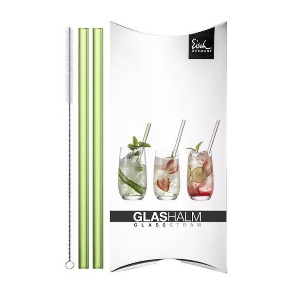 Bilde av Eisch Gentleman glassugerør, grønn, 2 stk