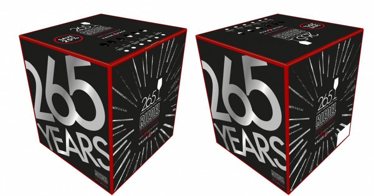 RIEDEL Veritas Cabernet/Merlot, 4-pk 265-årsjubileum
