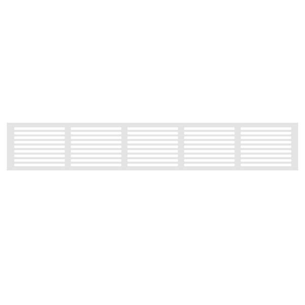 Bilde av Hvit ventilasjonsrist til vinskap, 60 cm