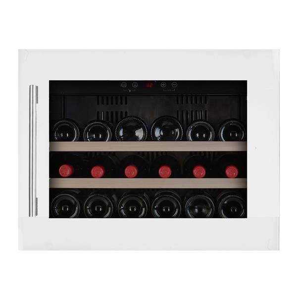 Bilde av Temptech vinskap, 18 flasker, hvit, høyskap