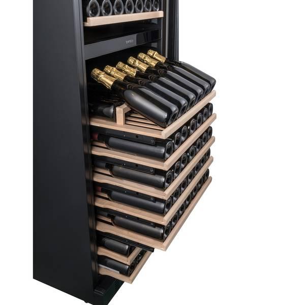 Bilde av Temptech Elegance vinskap, 2 soner, 150 flasker