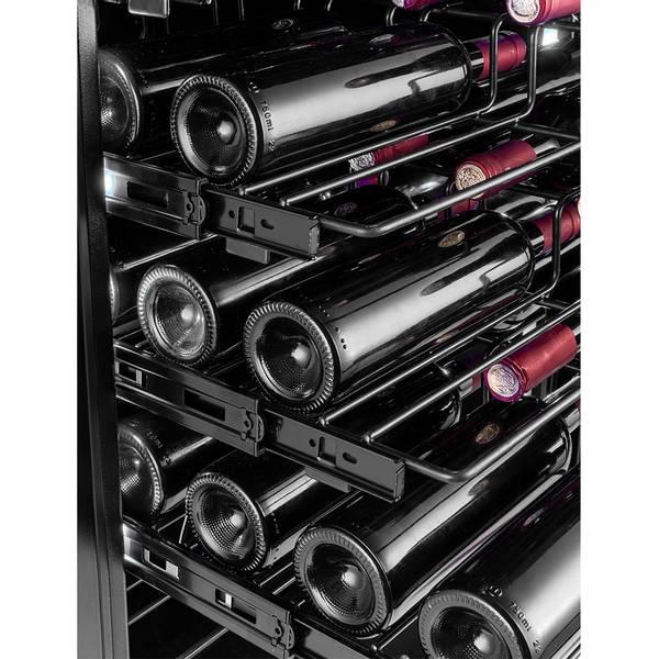 Bilde av Temptech Copenhagen vinskap, 1 sone, 143 flasker