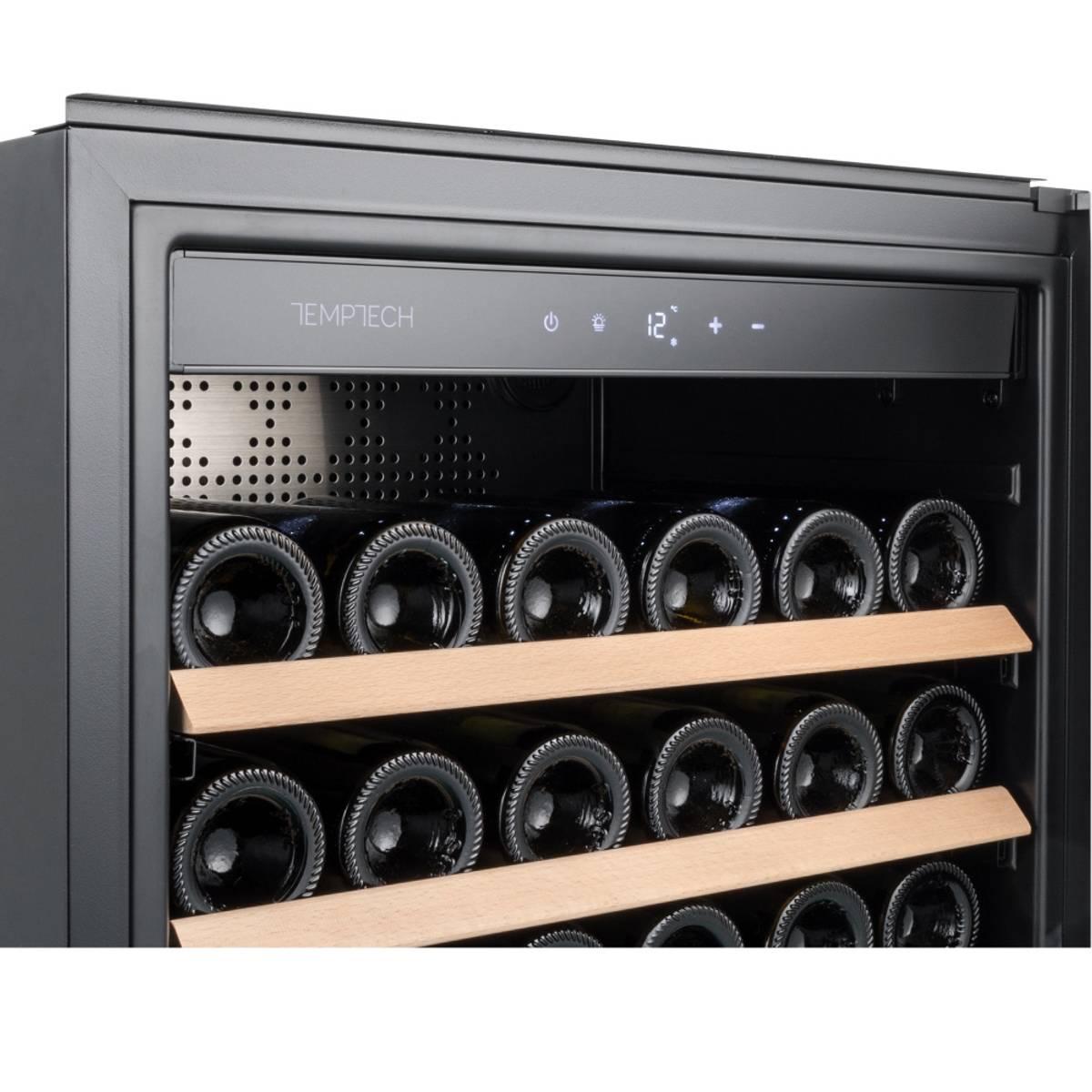 Temptech Oslo vinskap, 1 sone, 18 flasker, høyskap