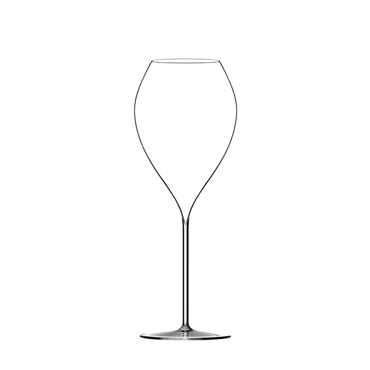 Lehmann Jamesse GD champagne munnblåst, 6-pk