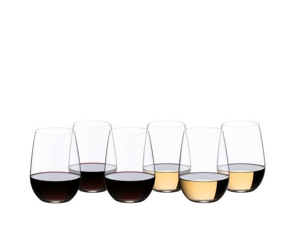 Bilde av RIEDEL O Wine Riesling/Sauvignon Blanc 6-pk 265-årsjubileum
