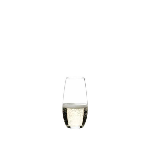 Bilde av RIEDEL O Wine Tumbler Champagneglass 2pk