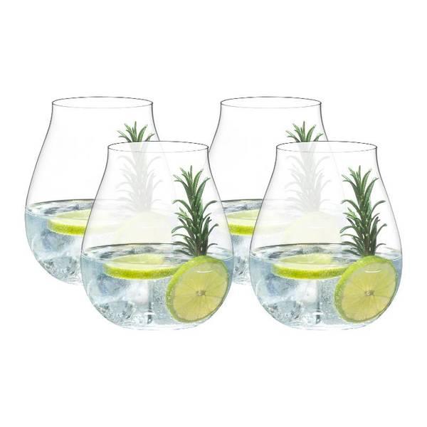 Bilde av RIEDEL O Wine Tumbler Gin 4pk
