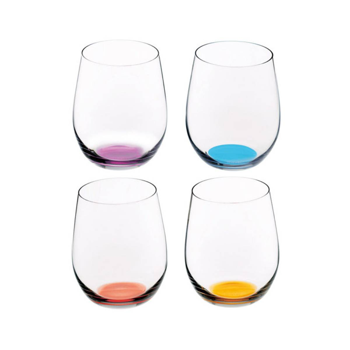 Riedel Happy O vannglass, 4 pakning