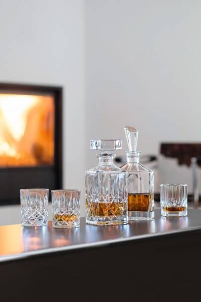 Bilde av NACHTMANN Noblesse sett med whiskyglass og karaffel, 3 deler