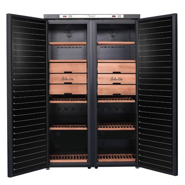 Bilde av Temptech Connoisseur vinlagringsskap, 2 soner, 474 flasker