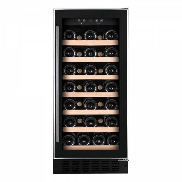 Bilde av Temptech Premium vinskap, 40 cm, 1 sone, 34 flasker