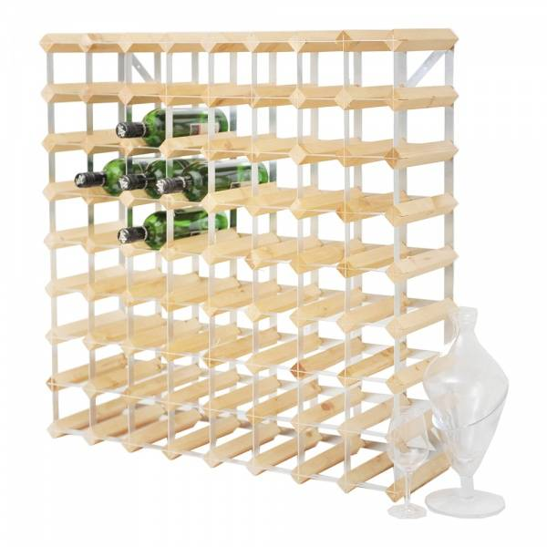Bilde av Vinstativ 90 flasker, montert, light wood, TWC/90ARLO