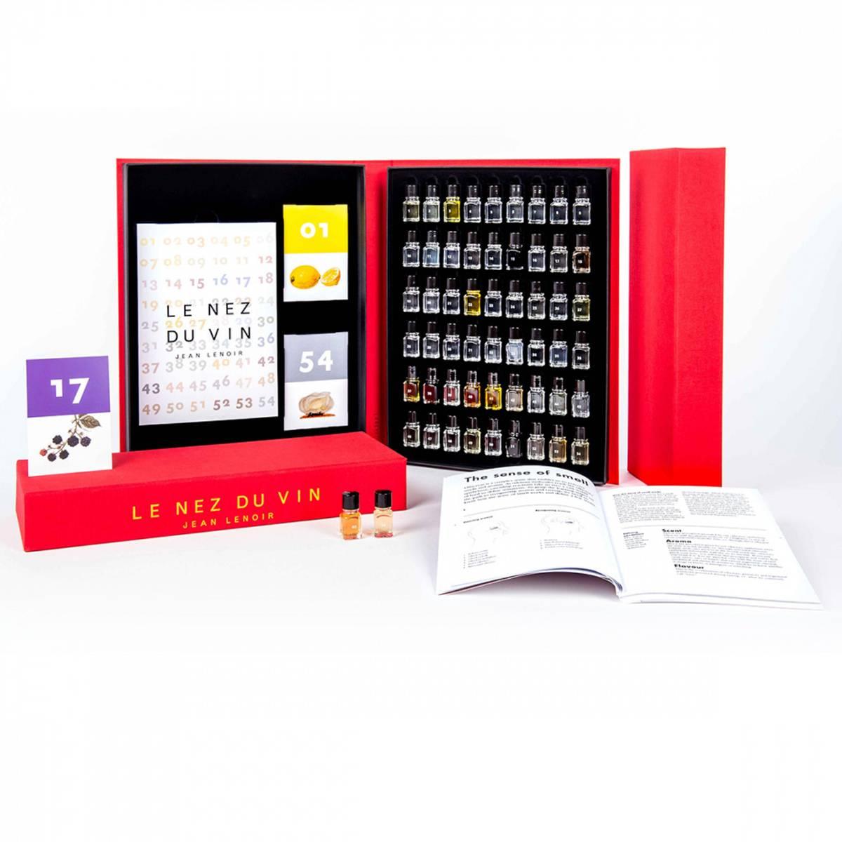 Le Nez aromasett - 54 aromaer for rødvin, hvitvin og musserende