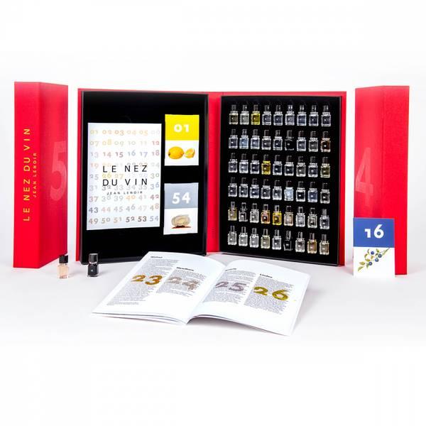 Bilde av Le Nez aromasett - 54 aromaer for rødvin, hvitvin og musserende