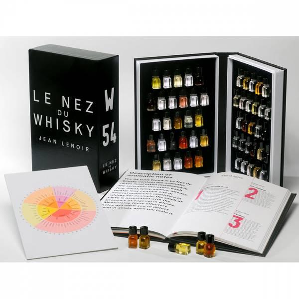 Bilde av Le Nez du Whisky aromasett - 54 aromaer for whisky