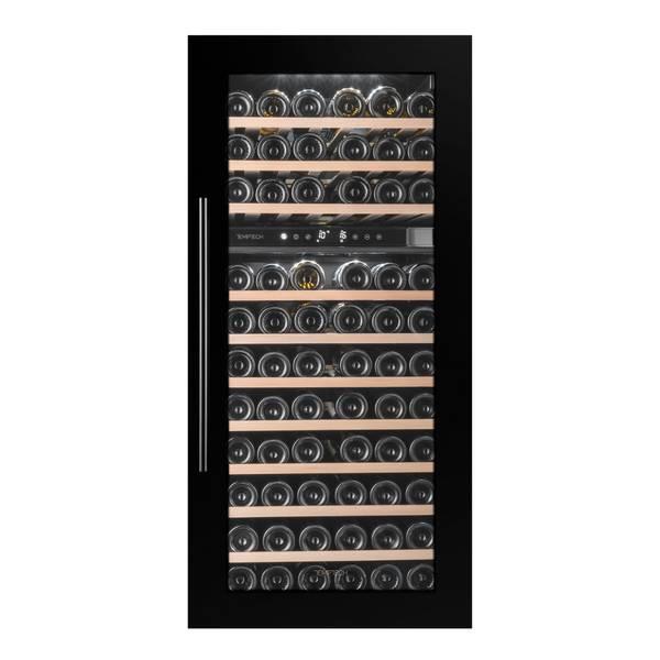 Bilde av Temptech Oslo vinskap, 2 soner, 74 flasker, høyskap