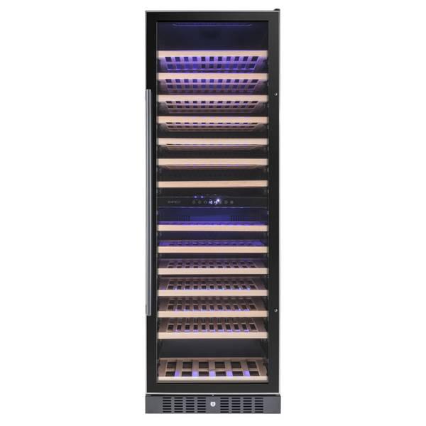 Bilde av Temptech Premium vinskap, 2 soner, 166 flasker
