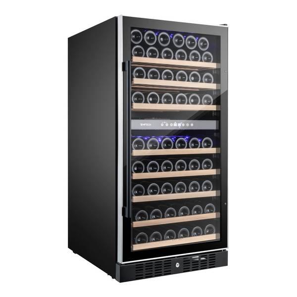 Bilde av Temptech Premium vinskap, 2 soner, 94 flasker
