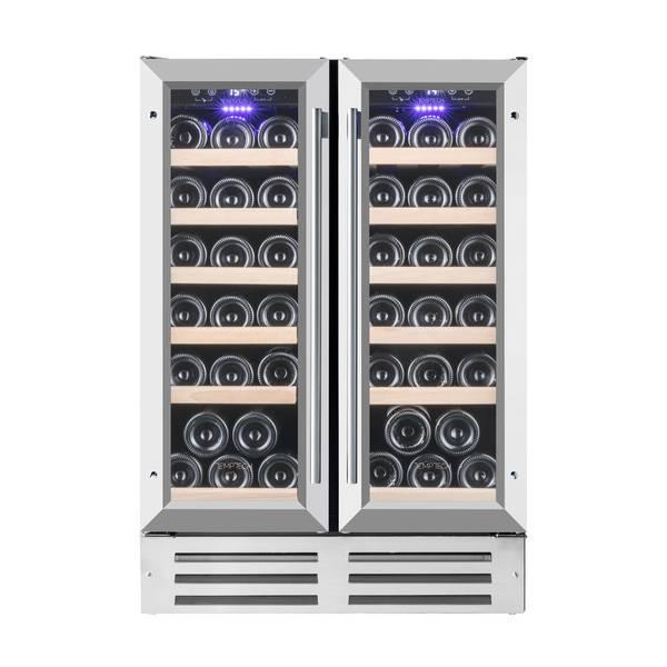 Bilde av Temptech Premium vinskap, 60 cm, 2 soner, 38 flasker
