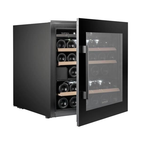 Bilde av Temptech vinskap for høyskap, svart