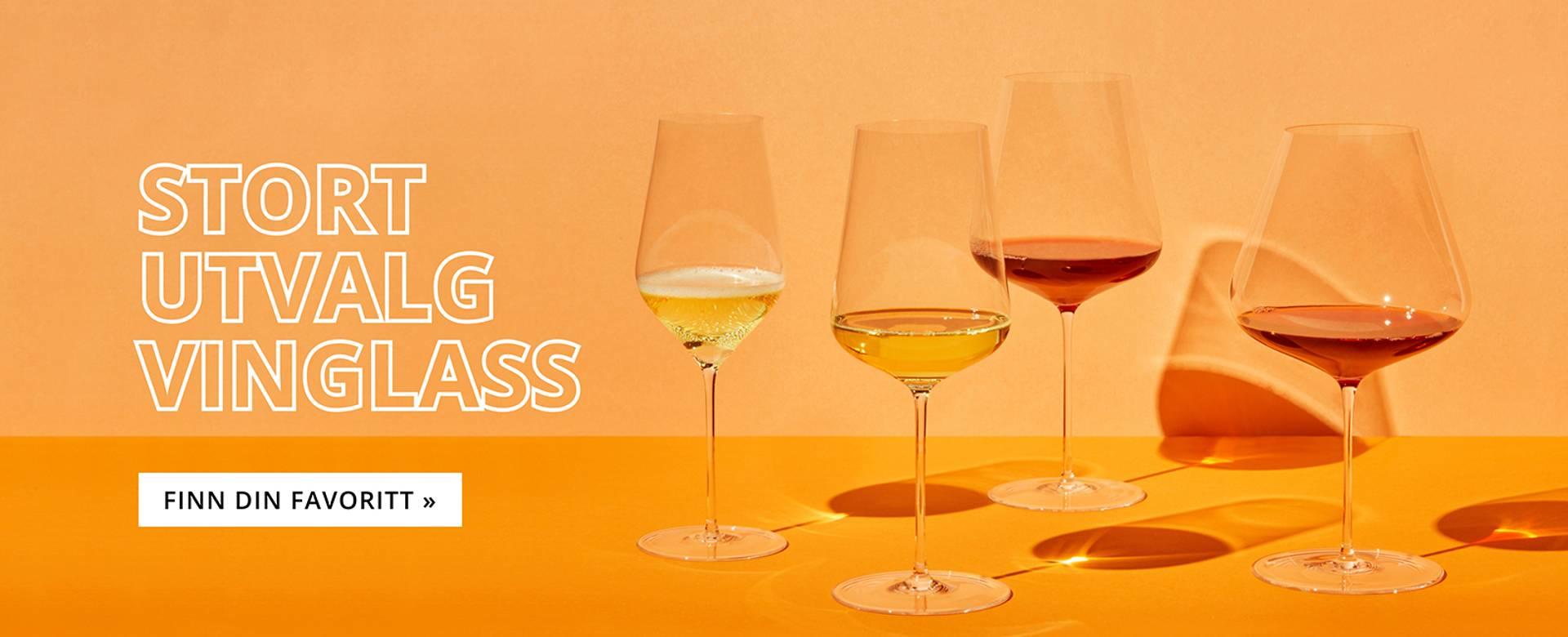 Se vårt store utvalg av vinglass - Riedel, Zalto, Lehmann, Grassl, Jancis Robinson