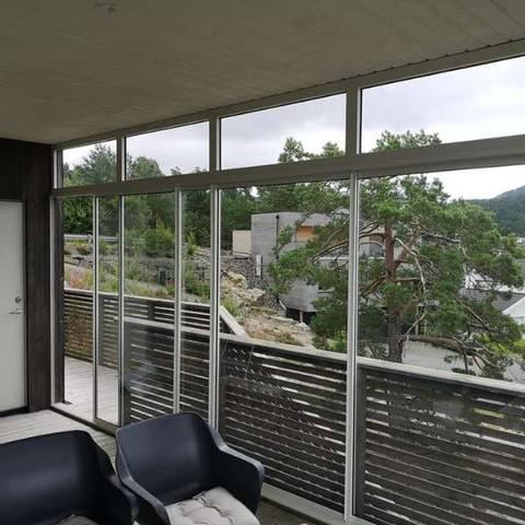 Bilde av Innglassing av terrasse